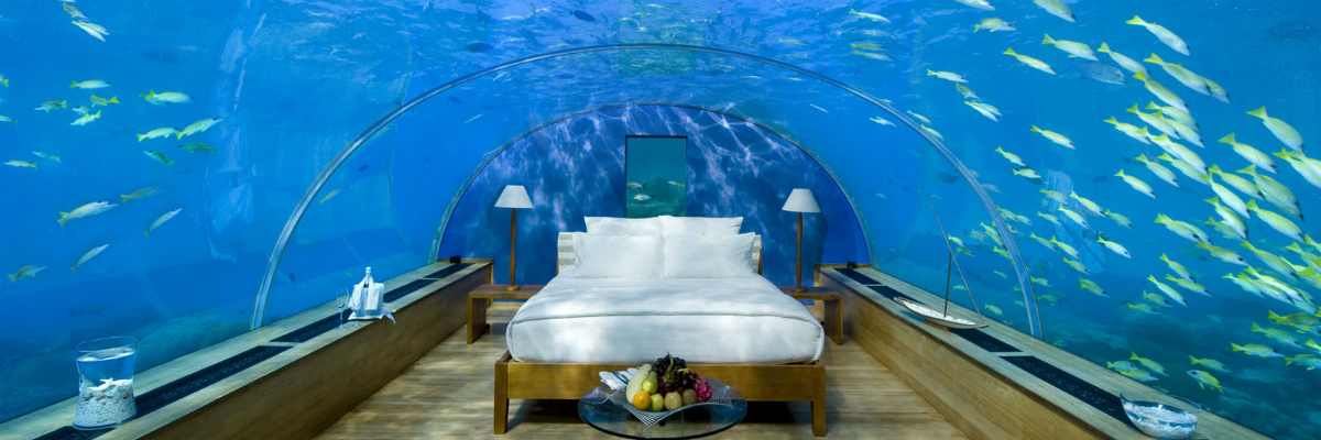 Exclusive underwater Hotels
